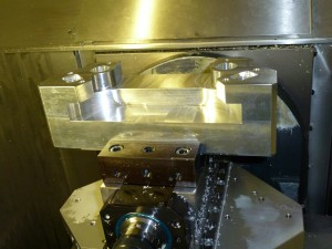 Workpiece machining CNC